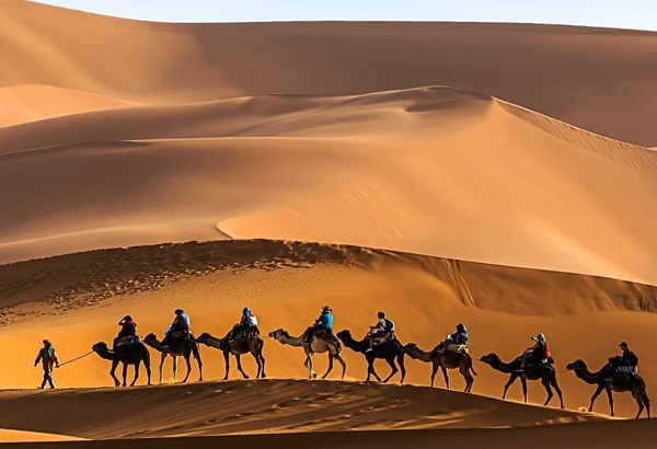 4 Day Sahara tours from Marrakech to Fes