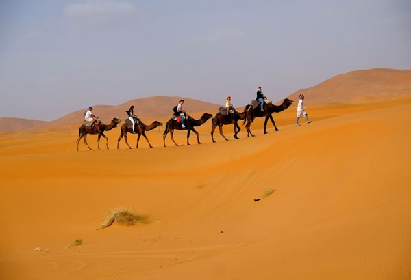 4 Day Sahara tours from Marrakech to Erg Chebbi